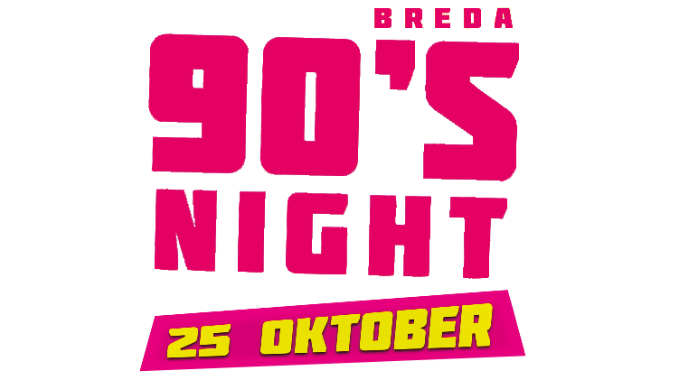 90s Night Breda Logo